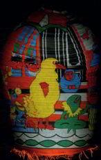 Sesame Street Big Bird Japanese Lantern