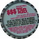 Diet Tab Soda Bottle Cap 1970s