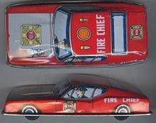 Fire Chief Litho Car