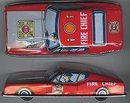 Fire Chief Litho Car