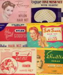 6 Vintage Hair Nets Various years