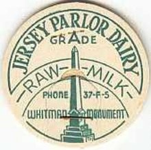Whitman Dairy Milk Pogs