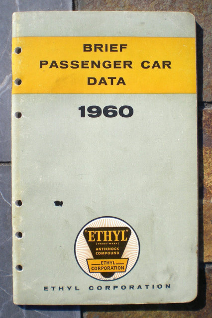 Ethyl Gas Car Booklet