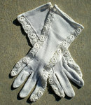 Tea Party Costume Gloves