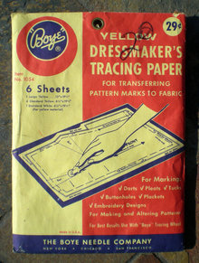 Dressmaker Tracing Paper Full 1940s