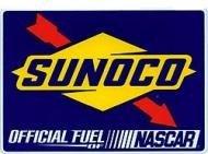 Sunoco Nascar Bumper Sticker