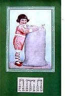 Flour Sack Calendar 1926