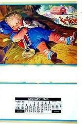 1946 Little Boy Blue Calendar