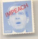 Impeach Nixon Postage Stamp