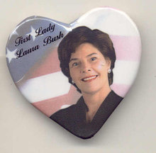 Laura Bush Pin