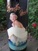 1994 Marilyn Monroe Red Wine Bottle Unopened