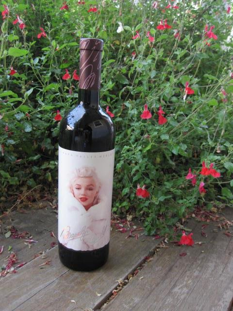 1995 Marilyn Monroe Red Wine Bottle Unopened