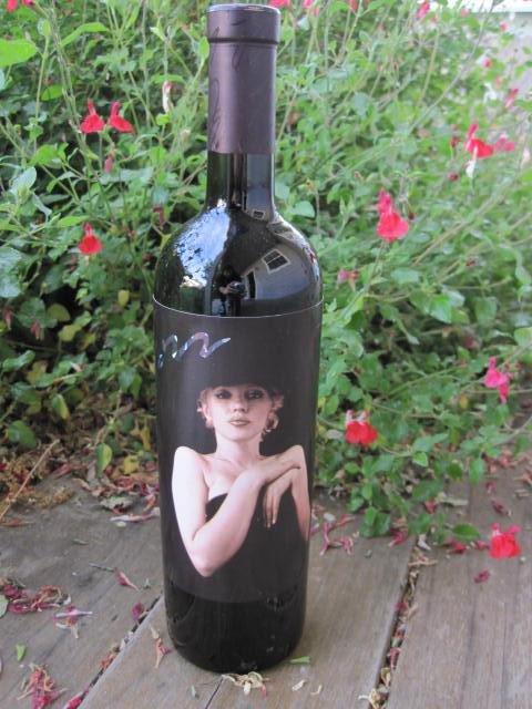 1996 Marilyn Monroe Red Wine Bottle Unopened