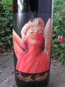 1997 Marilyn Monroe Red Wine Bottle Unopened