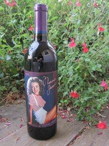 1998 Marilyn Monroe Red Wine Bottle Unopened