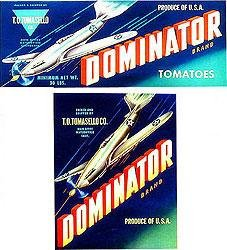 Dominator Crate Can Labels