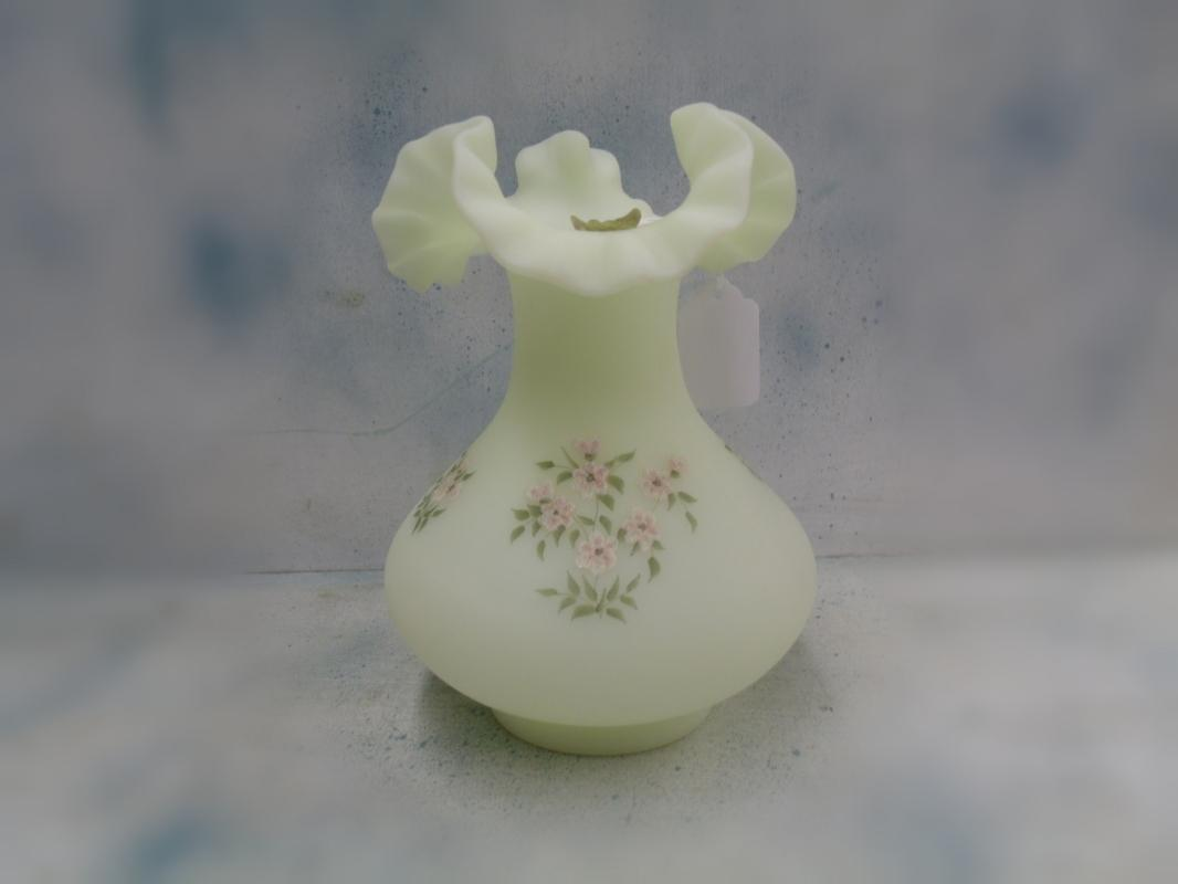 Signed Fenton Vase