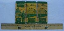 Chicago North Western Railroad Train Wood Ruler & Books