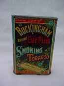 Nice, Buckingham Vertical Tobacco Pocket Tin