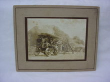 Old Photo Tractor & Implements New Huber Marion Ohio