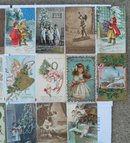 Lg. Lot of Early Christmas Postcards Germany Tuck's Etc.