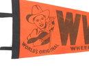 WWVA Jamboree Wheeling, WV Felt Pennant