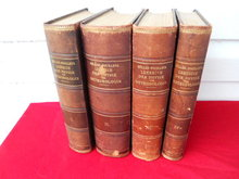 Early 1900's 4 Vol. Physics Meteorology Leop. Pfaundler