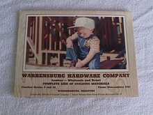 1959 Warrensburg, Mo Hardware Tool Calendar