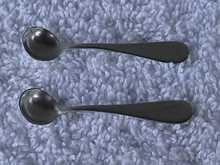 Pr. of Sterling Silver Salt Spoons