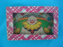 1950's Clown Puzzle-Type Game