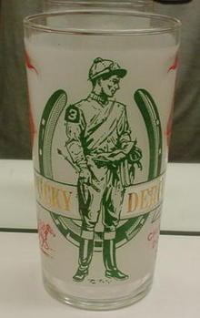 1969 Kentucky Derby Glass