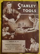 Early No. 35 Stanley Tools Catalog