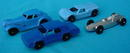 (4) Early Tootsie Toy Vehicles