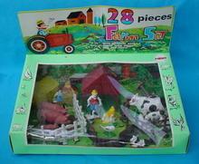 Mego 28 Pc. Farm Set w/Org. Sealed Box