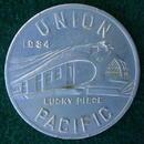 1934 Union Pacific Aluminum Coin