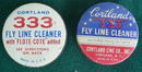 Pr. of Cortland Fly Fishing Line Cleaning Tins