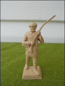 Daniel Boone Marx Playset Figure