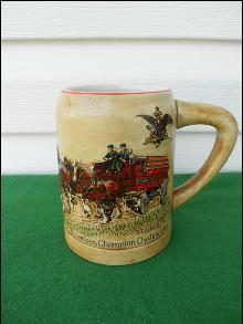 1980 Budweiser Mug