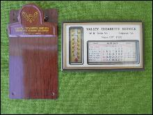 Valley Cigarette Advertising Items