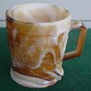 Imperial Caramel Slag Robin Mug