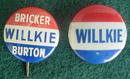 Pr. of Wilkie Political Badges