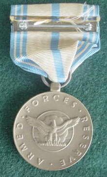 Armed Forces Reserve Ribbon Medal