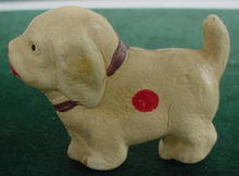 Old Hard Plastic Dog--Japan