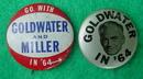 Pr. of Goldwater Political Pinbacks