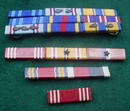 Collection of Military Bars