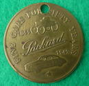 Packard 50th Anniversary Token/Coin