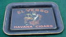 El Verso Havana Cigars Adver. Tip Tray