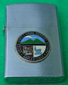 U.S. Naval Support Naples, Italy Lighter