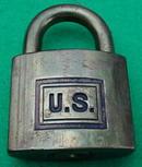 Brass U.S. Corbin Padlock