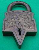 Early Brass Keen Kutter Padlock